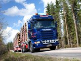 Pictures of Scania R620 6x6 Highline Timber Truck 2005–09