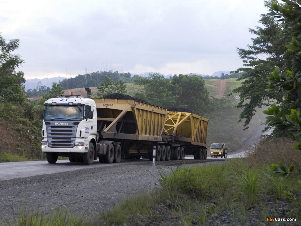 Pictures of Scania R580 6x4 2005–09 (1024 x 768)