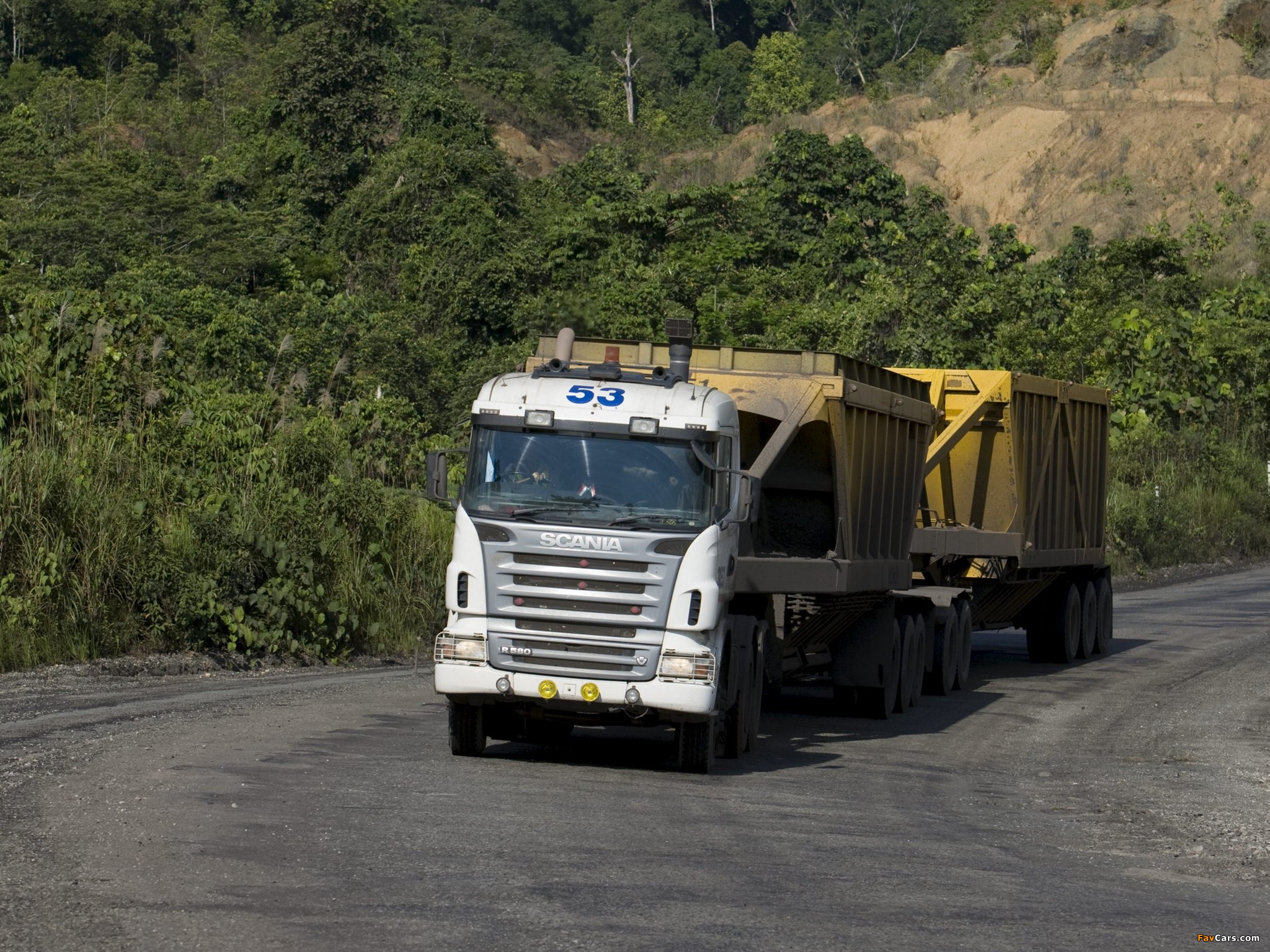 Pictures of Scania R580 6x4 2005–09 (2048 x 1536)