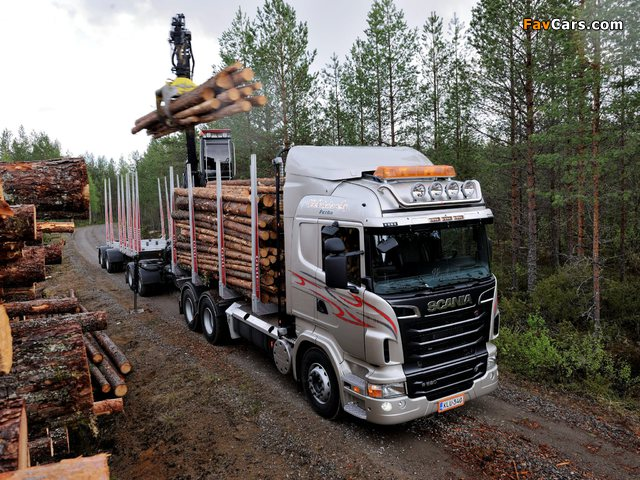 Pictures of Scania R620 6x4 Highline Timber Truck 2009–13 (640 x 480)