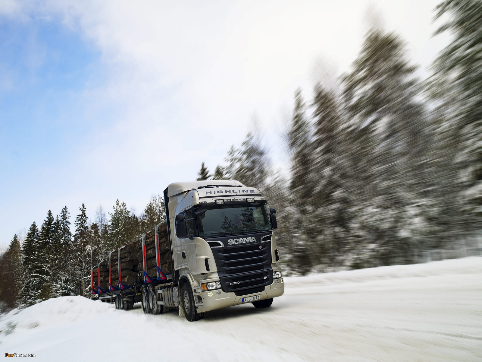 Pictures of Scania R730 6x4 Highline Timber Truck 2010–13 (1600 x 1200)
