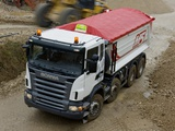 Scania R480 8x4 Tipper 2004–09 images