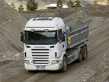 Scania R500 6x2 Tipper 2004–09 images
