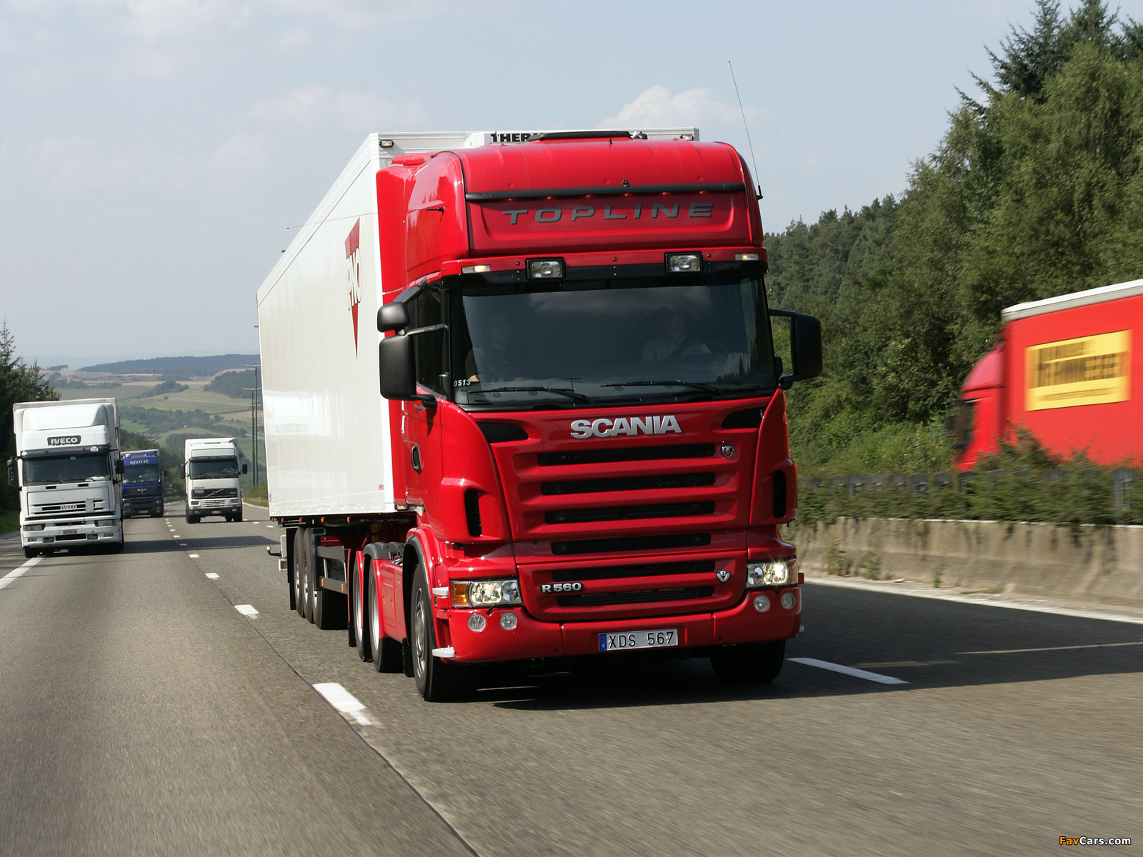Scania R560 6x2 Topline 2004–09 images (1600 x 1200)