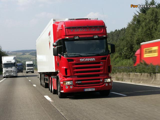 Scania R560 6x2 Topline 2004–09 images (640 x 480)