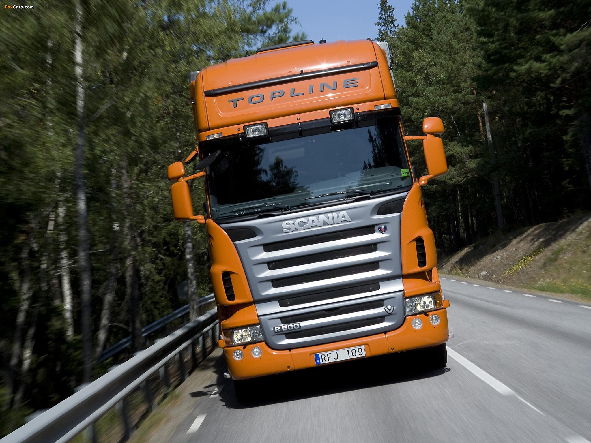 Scania R500 6x4 Topline 2004–09 images (2048 x 1536)