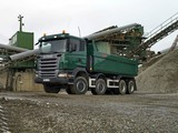 Scania R420 8x8 Tipper 2004–09 images