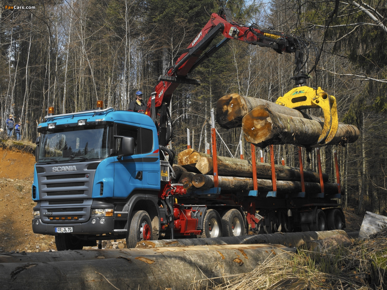 Scania R470 6x6 Timber Truck 2004–09 images (1280 x 960)