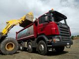 Scania R480 8x4 Tipper 2004–09 photos