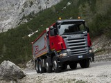 Scania R500 8x4 Tipper 2004–09 photos