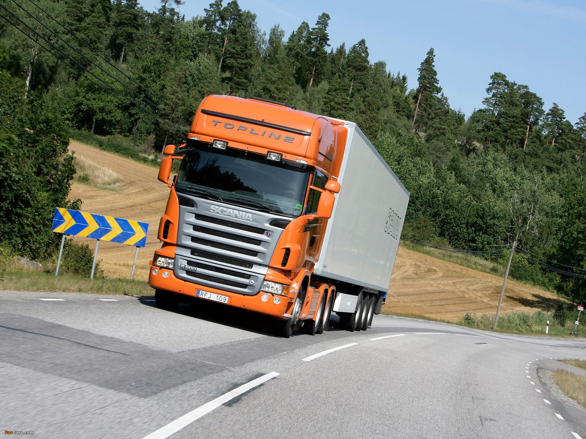 Scania R500 6x4 Topline 2004–09 photos (2048 x 1536)