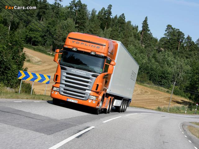 Scania R500 6x4 Topline 2004–09 photos (640 x 480)
