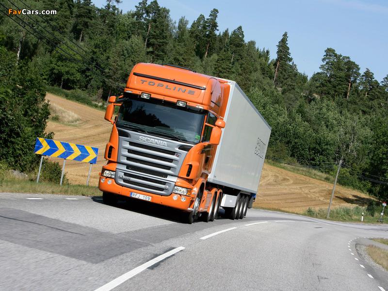 Scania R500 6x4 Topline 2004–09 photos (800 x 600)