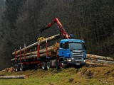 Scania R470 6x6 Timber Truck 2004–09 photos