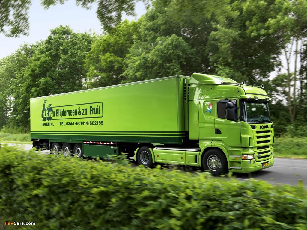 Scania R500 4x2 Highline 2004–09 photos (1024 x 768)