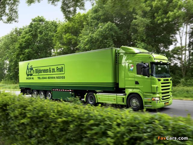 Scania R500 4x2 Highline 2004–09 photos (640 x 480)