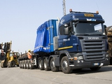 Scania R560 8x4 Highline 2004–09 pictures