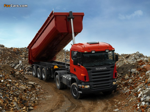 Scania R420 4x2 2004–09 pictures (640 x 480)