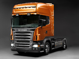 Scania R580 4x2 Topline 2004–09 pictures