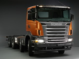 Scania R420 8x4 2004–09 pictures