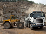 Scania R500 8x4 Tipper 2004–09 wallpapers
