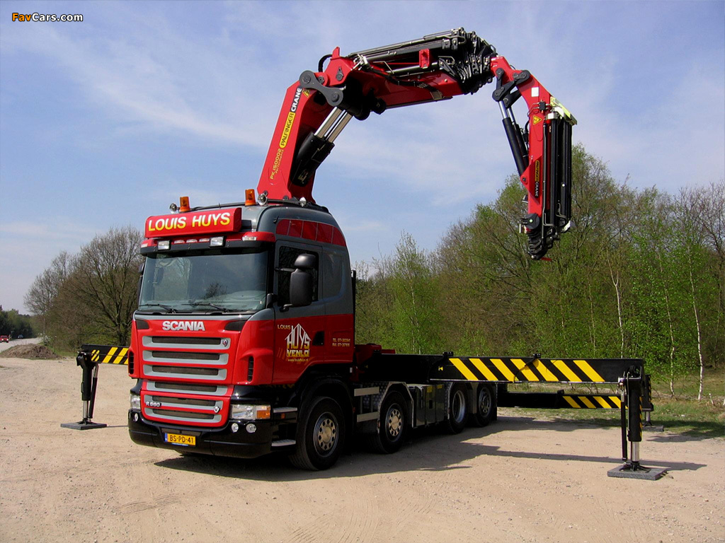 Scania R560 8x4 Highline 2004–09 wallpapers (1024 x 768)