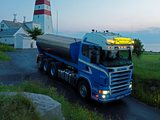 Scania R580 8x4 Tipper 2004–09 wallpapers