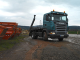 Scania R420 4x2 Skiploader 2004–09 wallpapers
