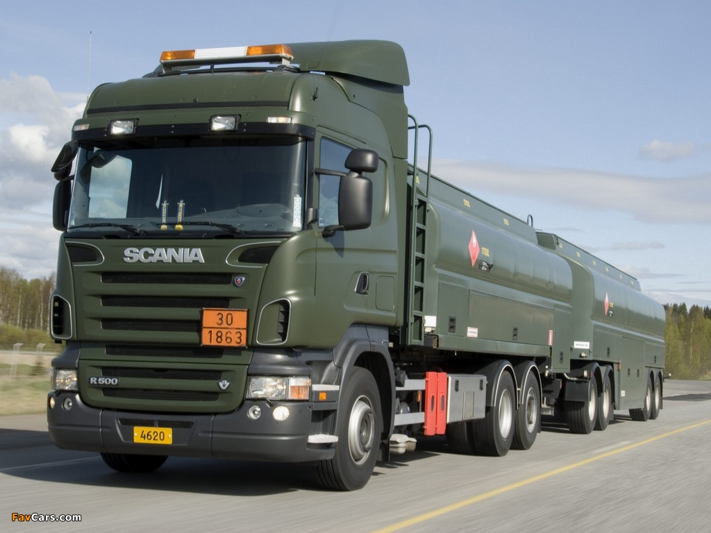 Scania R500 6x2 Highline HZ 2004–09 wallpapers (1024 x 768)