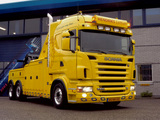 Scania R500 6x2 Highline Tow Truck 2004–09 wallpapers