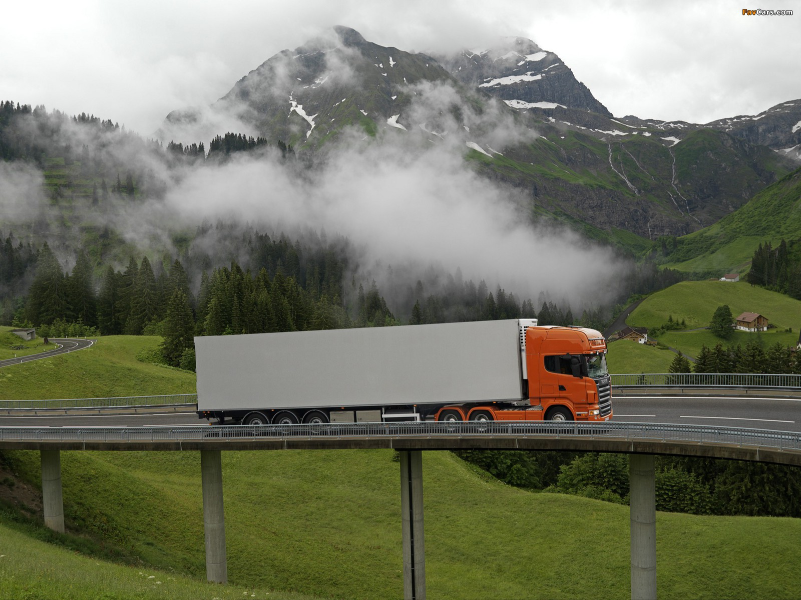 Scania R500 6x4 Topline 2004–09 wallpapers (1600 x 1200)