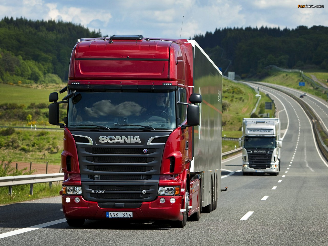Scania R-Series 2004 wallpapers (1280 x 960)