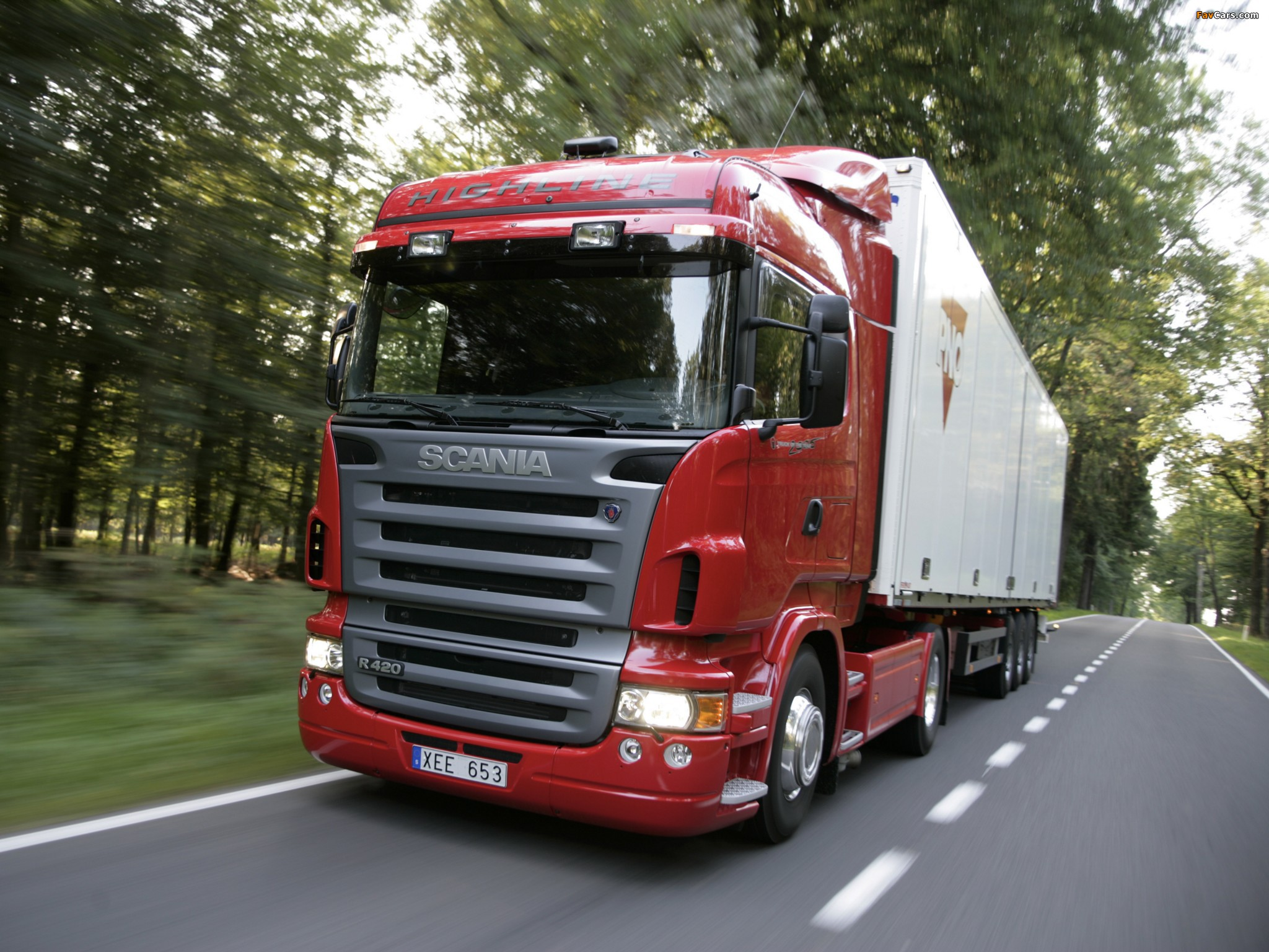 Scania R420 4x2 Highline 2004–09 wallpapers (2048 x 1536)