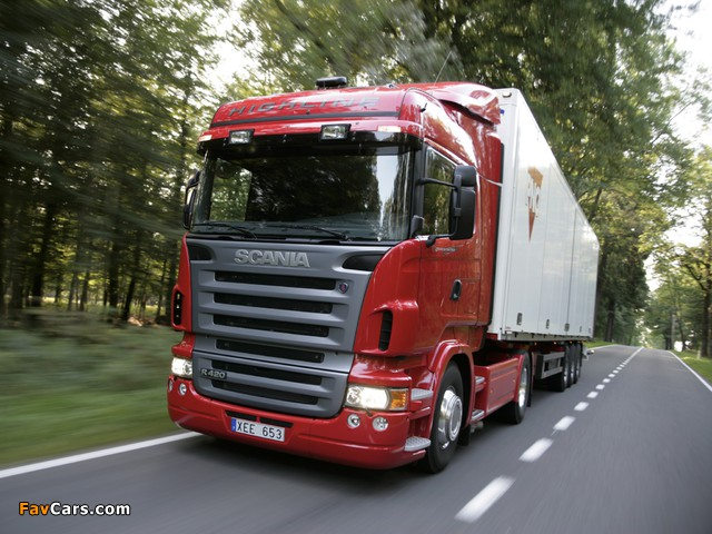 Scania R420 4x2 Highline 2004–09 wallpapers (640 x 480)