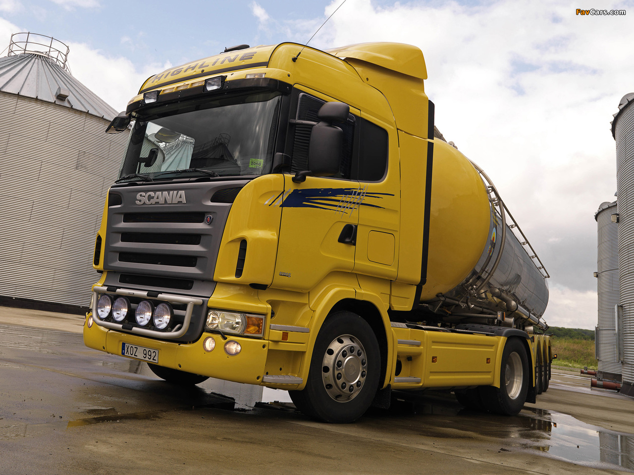 Scania R420 4x2 Highline 2004–09 wallpapers (1280 x 960)