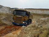 Scania R420 6x4 2004–09 wallpapers
