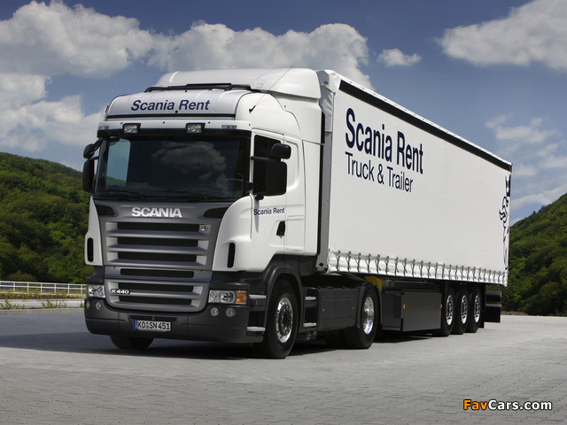 Scania R440 4x2 Highline 2004–09 wallpapers (640 x 480)