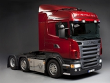 Scania R620 6x2 Highline 2005–09 pictures