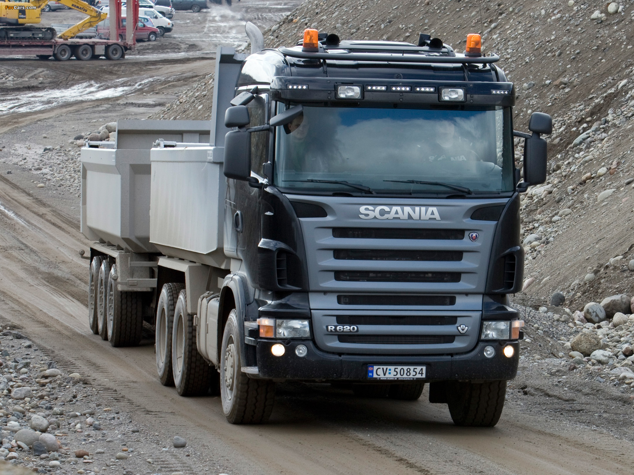 Scania R620 6x4 Tipper 2005–09 pictures (2048 x 1536)