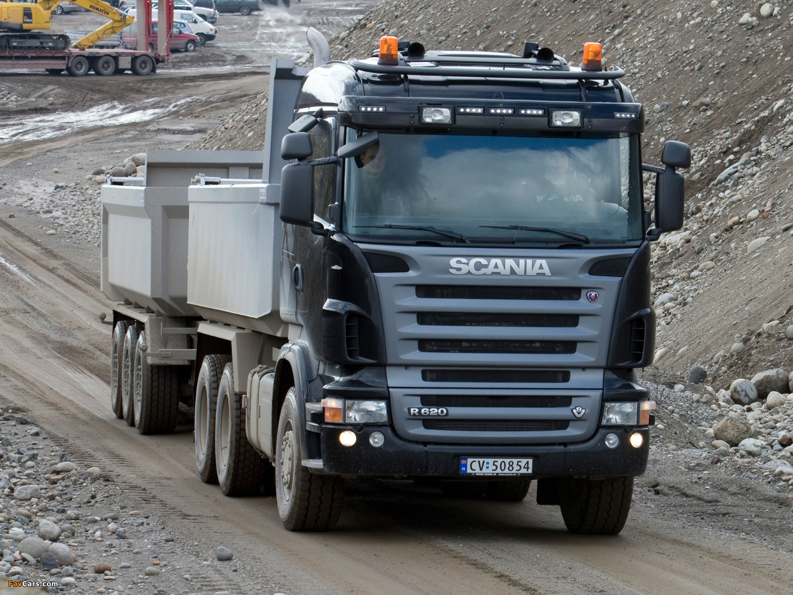 Scania R620 6x4 Tipper 2005–09 pictures (1600 x 1200)