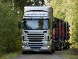 Scania R620 6x4 Highline Timber Truck 2009–13 images