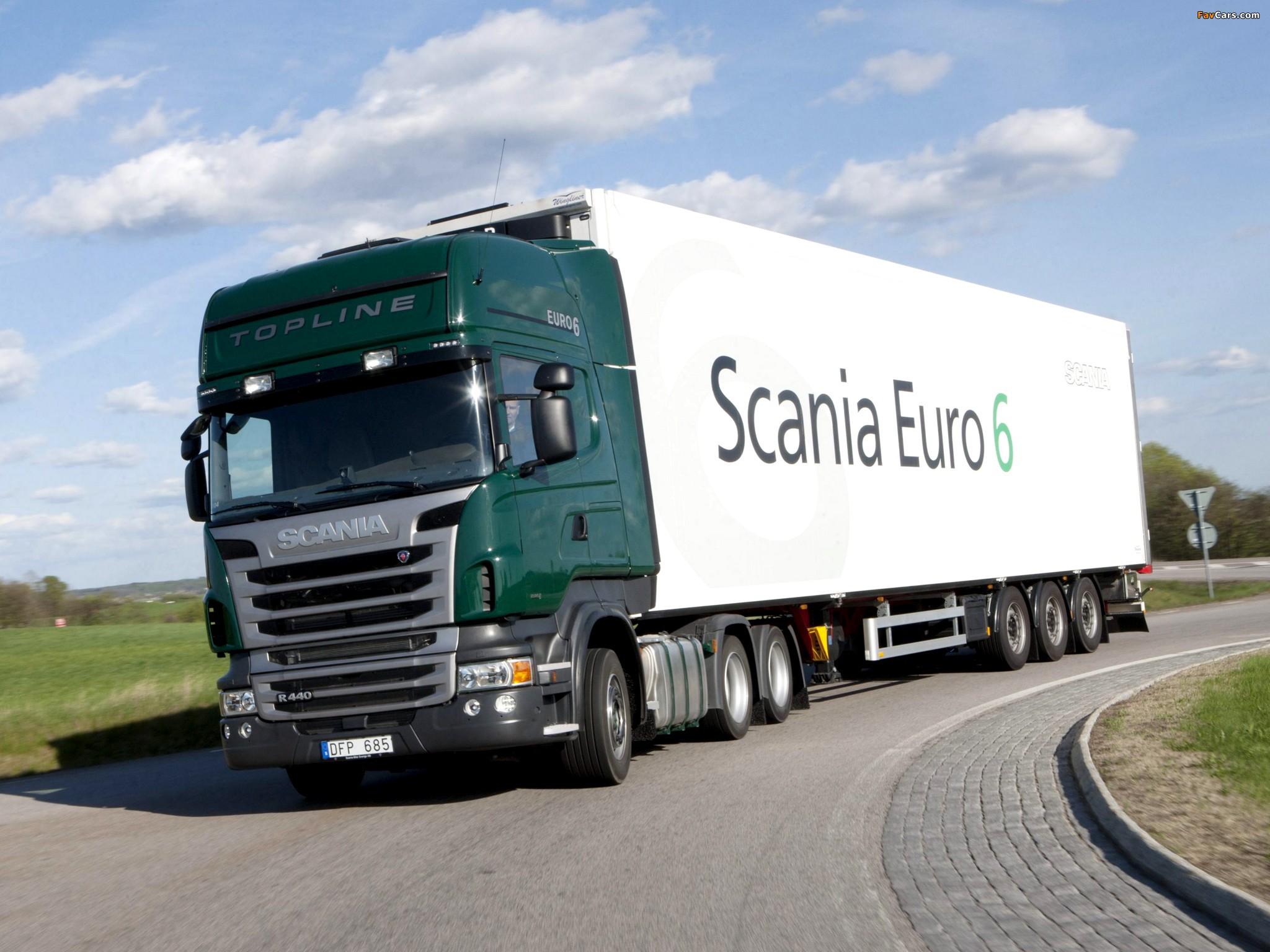 Scania R440 6x2 Topline 2009–13 images (2048 x 1536)