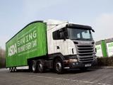 Scania R400 6x2 UK-spec 2009–13 images