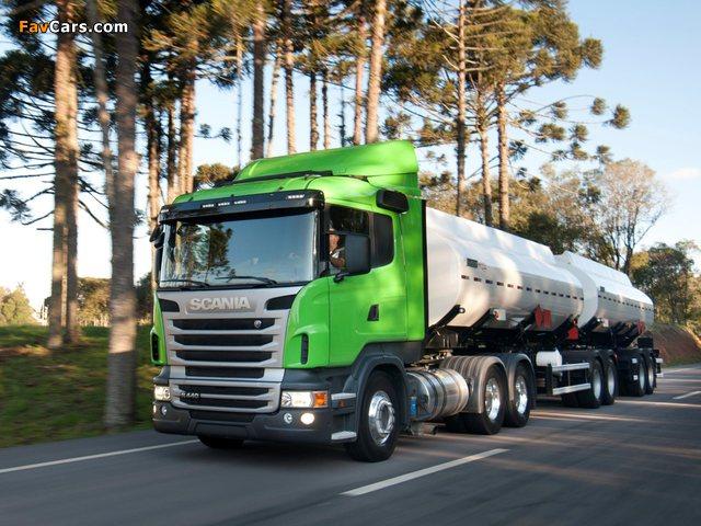 Scania R440 6x2 2009–13 photos (640 x 480)