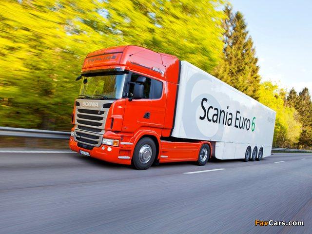 Scania R480 4x2 Topline 2009–13 photos (640 x 480)