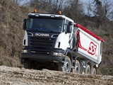 Scania R500 8x4 Tipper 2009–13 pictures