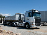 Scania R560 6x4 2009–13 wallpapers