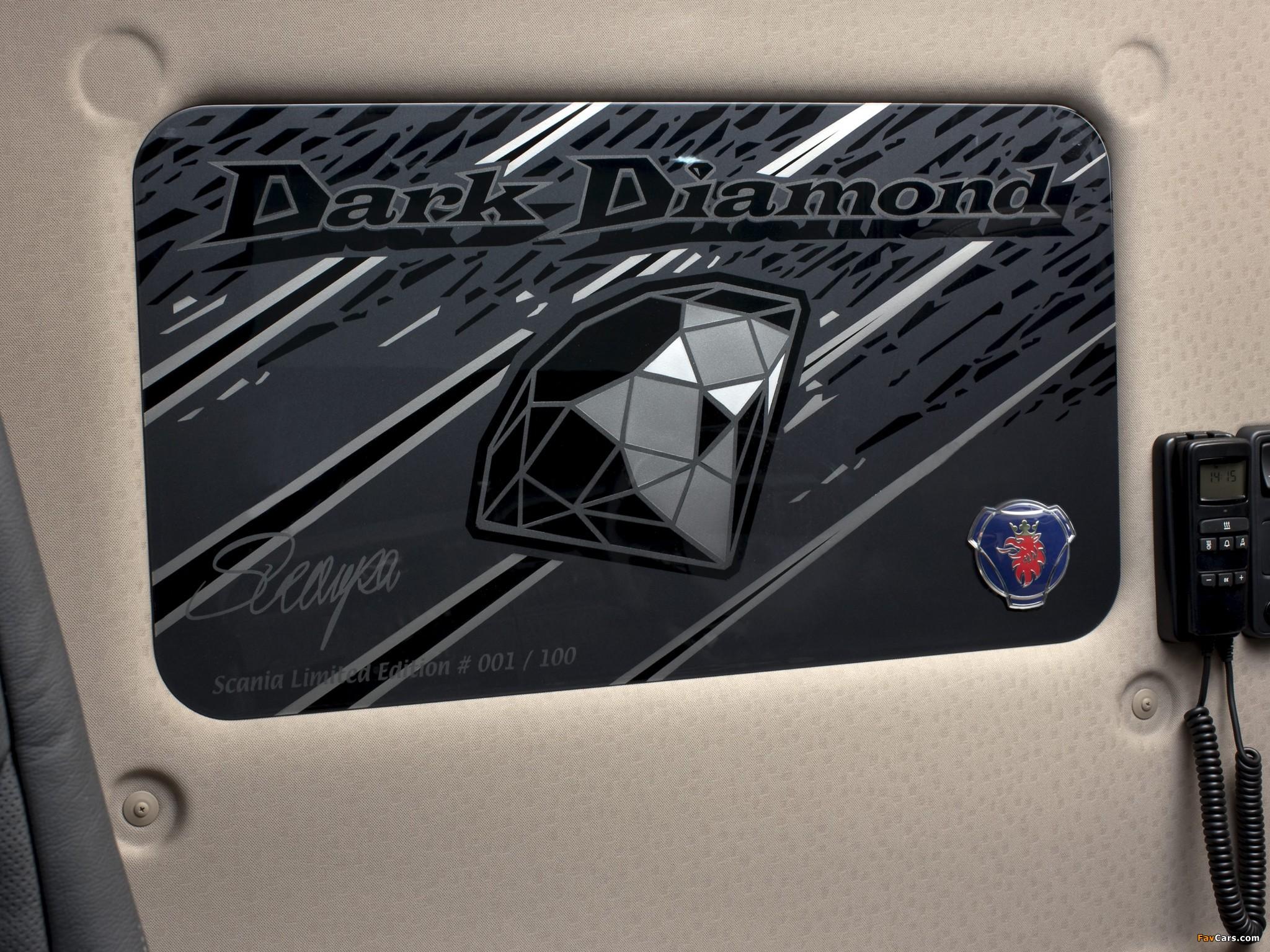 Scania R620 Dark Diamond 2009–10 wallpapers (2048 x 1536)