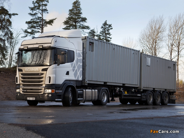 Scania R440 4x2 Highline 2009–13 wallpapers (640 x 480)