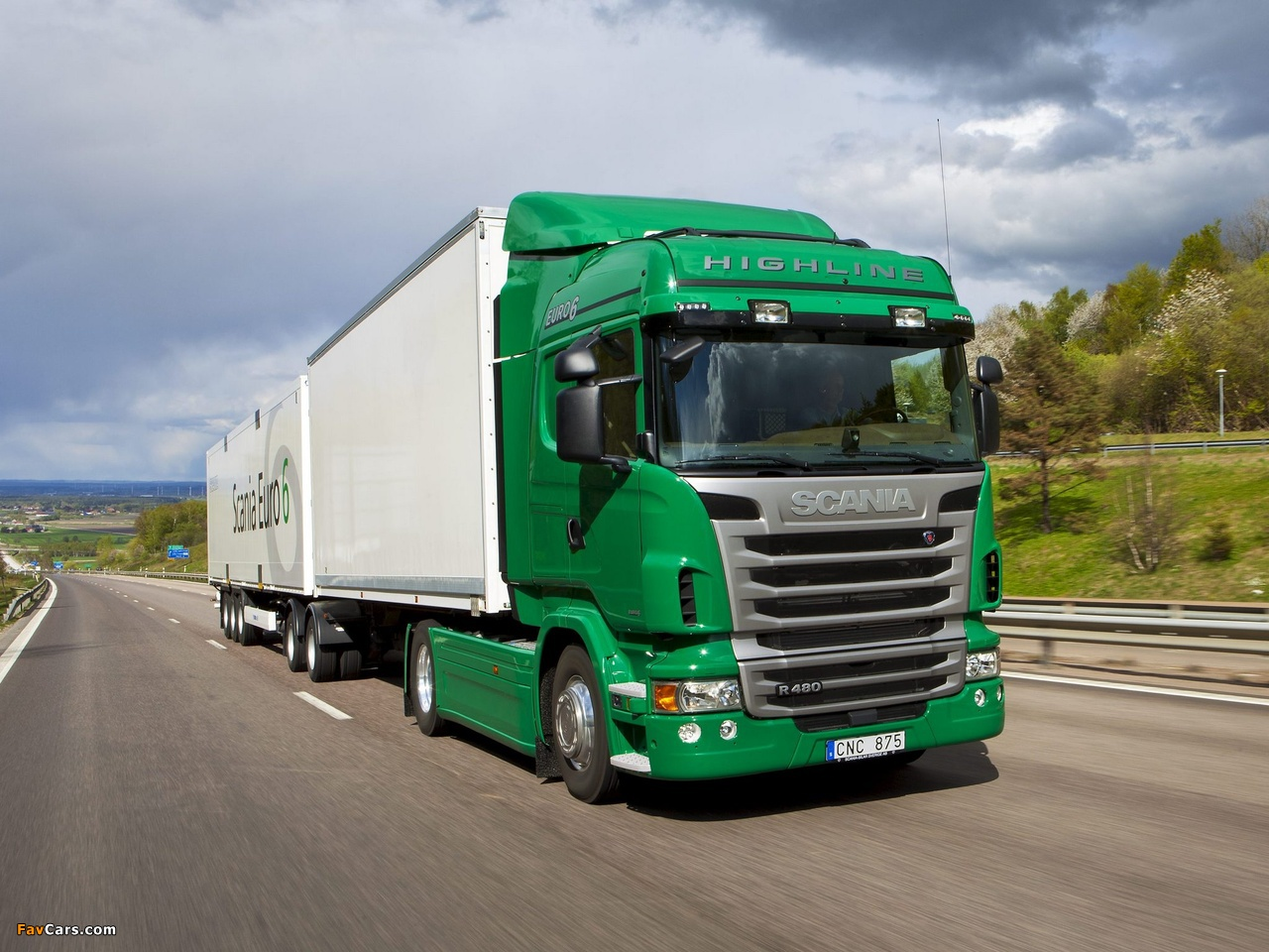 Scania R480 4x2 Highline 2009–13 wallpapers (1280 x 960)